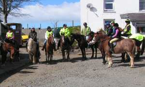 charity ride in aid of wales air ambulance