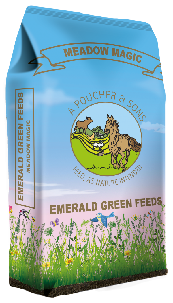 Emerald Green Meadow Magic Pellets 20kg
